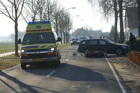 Motorrijder gewond bij ongeval Loerbeek|foto 112Achterhoek-Nieuws.nl