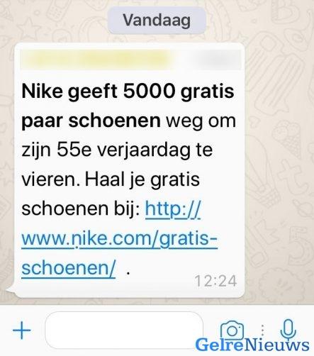 Fraudehelpdesk waarschuwt voor valse Whatsapp bericht