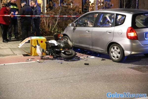 Ernstig Ongeval Met Pizzakoerier In Tiel