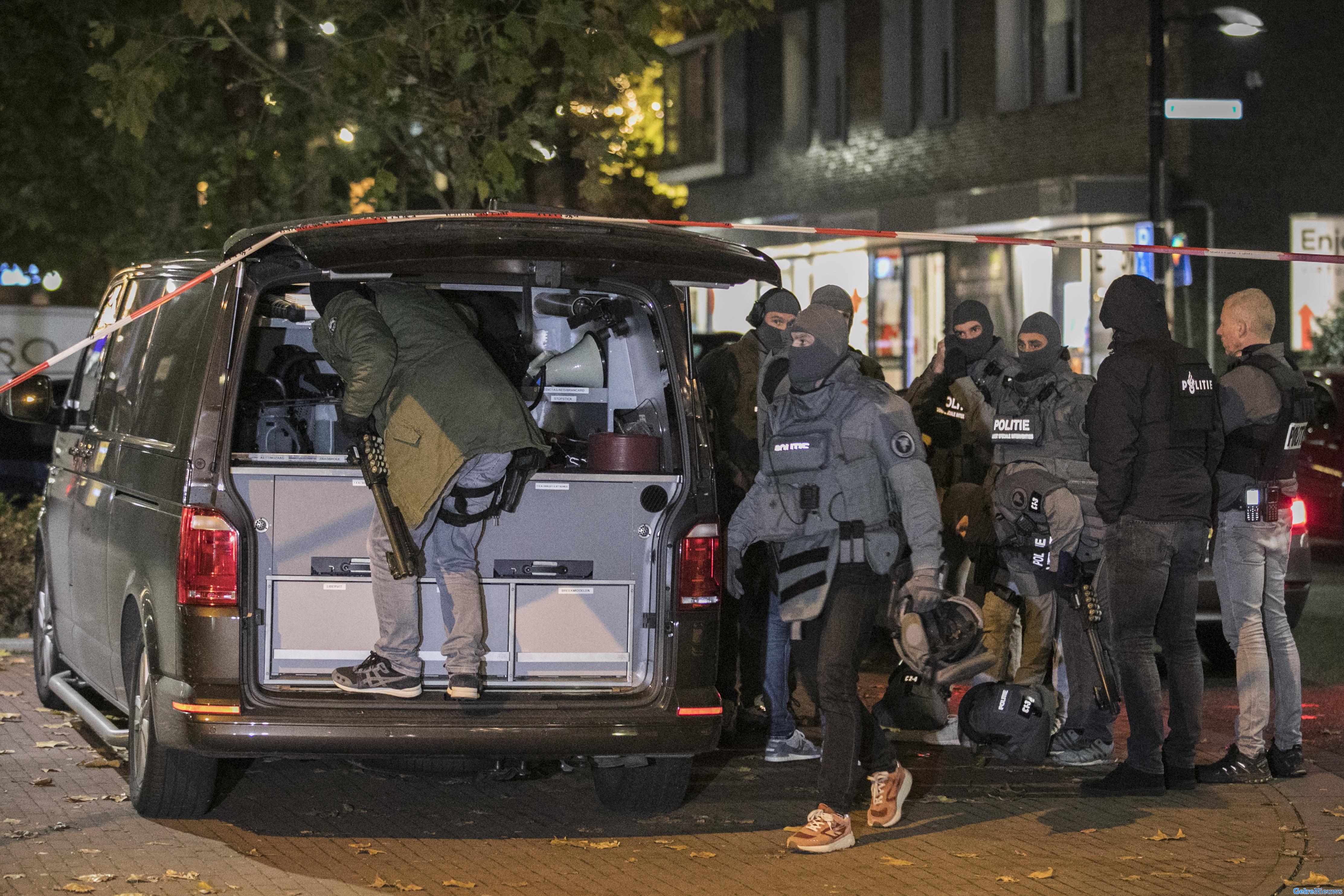 Geen wapen aangetroffen bij man die voor dreiging zorgde in Nijmegen