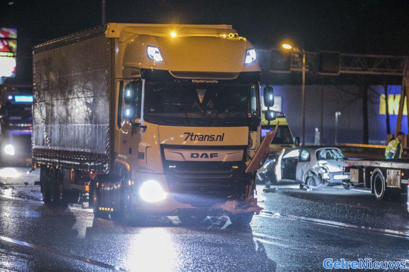 Ongeval IJsselbrug A12 Duiven: meer dan een uur file